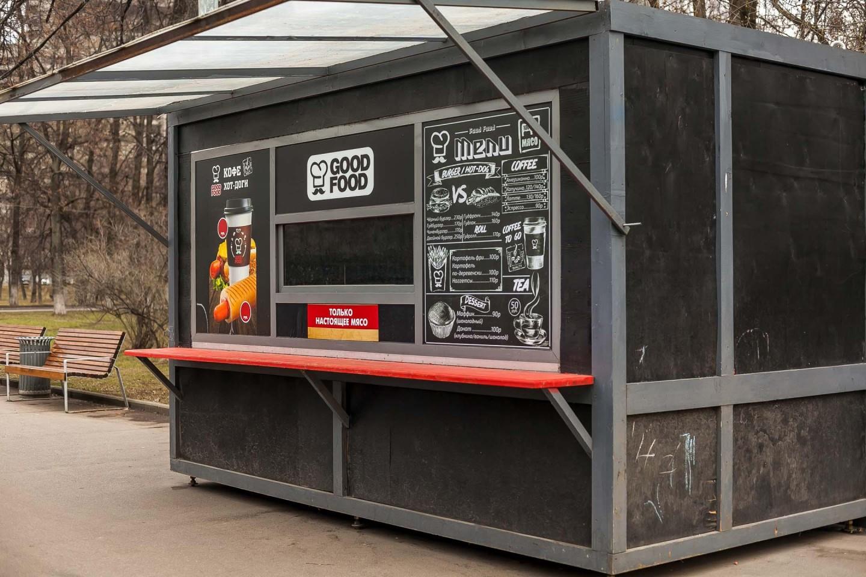 Кафе Good Food, Парк «Красная Пресня», Москва — ParkSeason