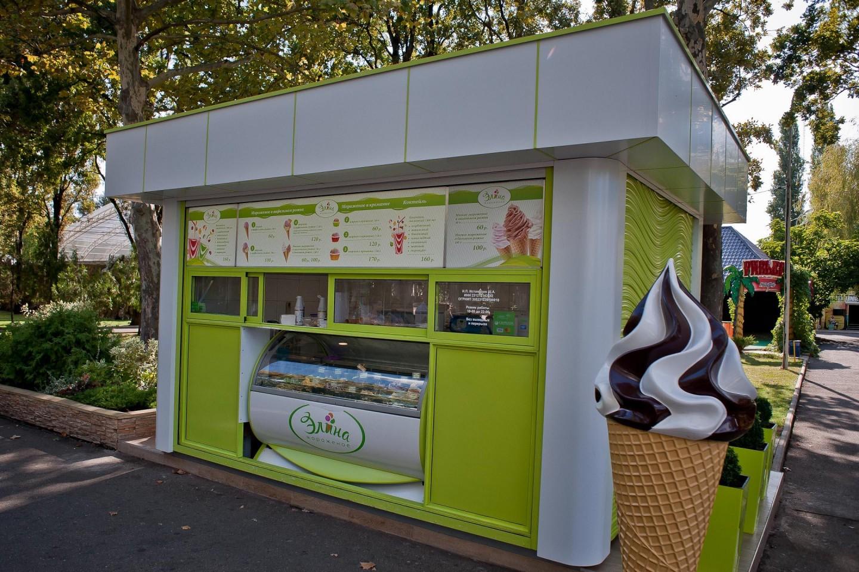 Киоск мороженное «Элина» — ParkSeason