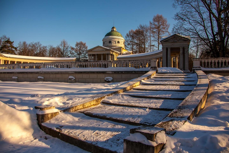 Храм-усыпальница «Колоннада», Музей-усадьба «Архангельское», Москва — ParkSeason