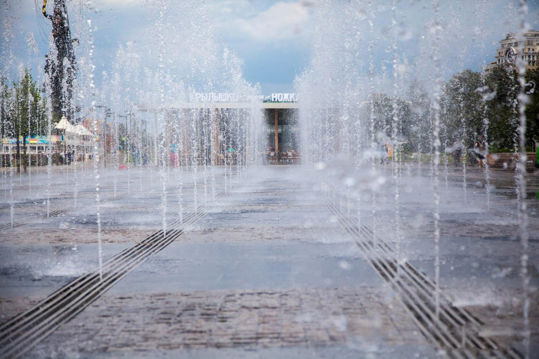 Фонтан, «Музеон», Москва — ParkSeason