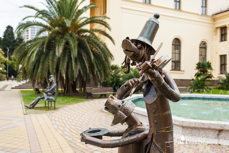 Скульптура «Скрипач» — ParkSeason