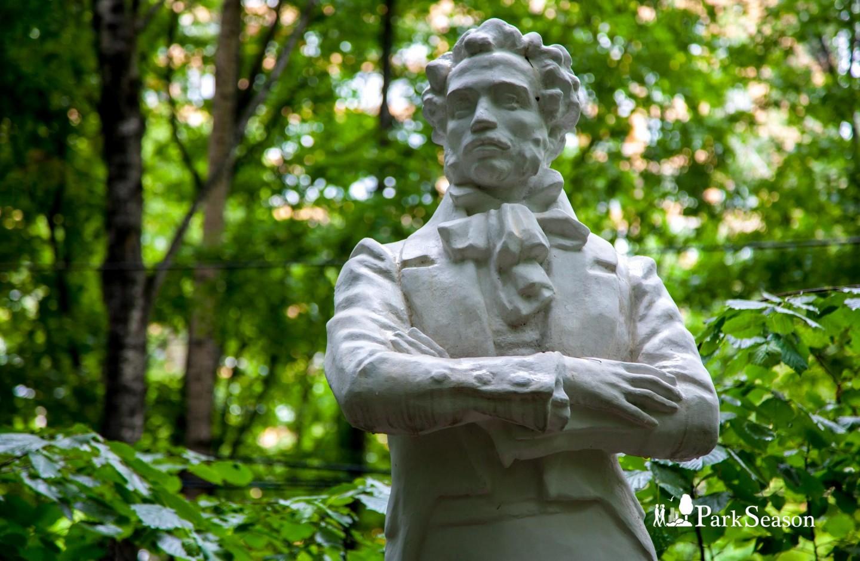 Скульптура А. С. Пушкина, Парк «Бабушкинский», Москва — ParkSeason