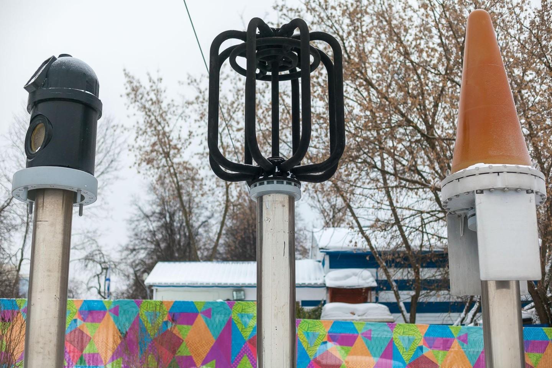 Выдвижные устройства, Парк «Северное Тушино», Москва — ParkSeason