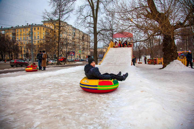 Чудо-горка, Парк «Березовая роща», Москва — ParkSeason