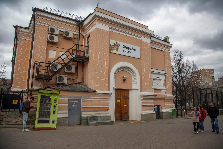 Павильон «Жирафы», Московский зоопарк, Москва — ParkSeason