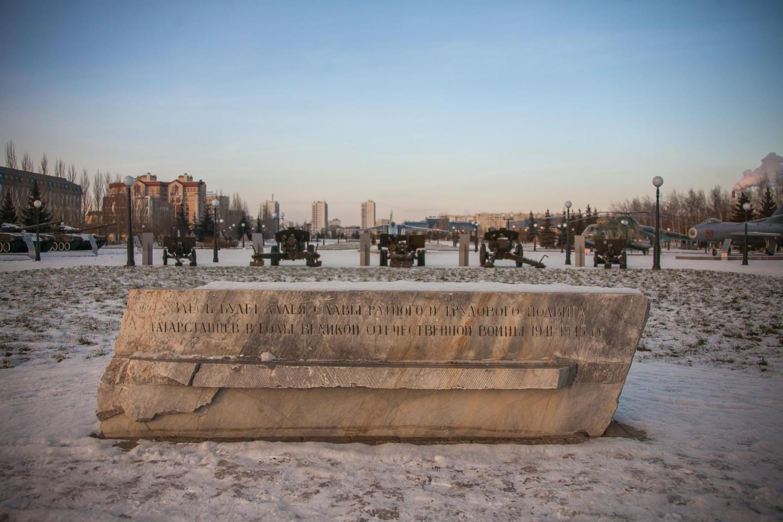 Камень-закладка аллеи славы — ParkSeason
