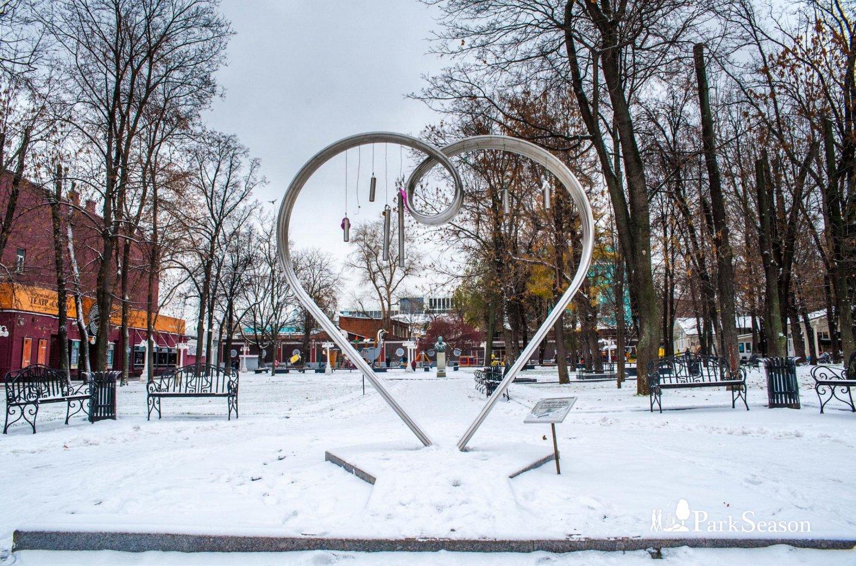 Памятник всем влюбленным, Сад «Эрмитаж», Москва — ParkSeason