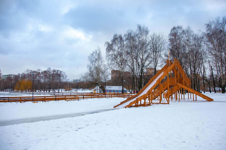 Горка, Парк Дружбы, Москва — ParkSeason