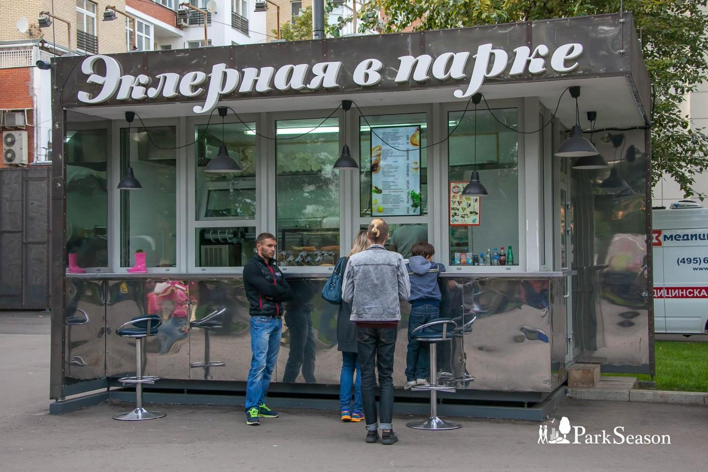 Киоск «Эклерная в парке», Парк «Таганский», Москва — ParkSeason