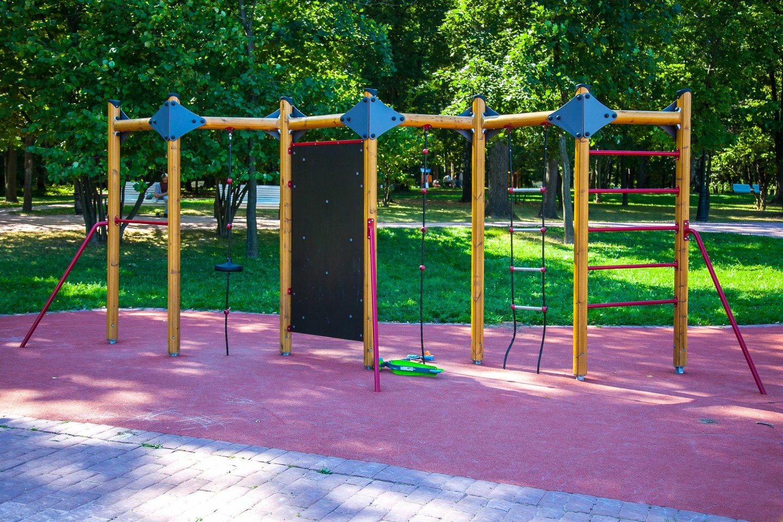 Детская площадка, Музей-заповедник «Царицыно», Москва — ParkSeason