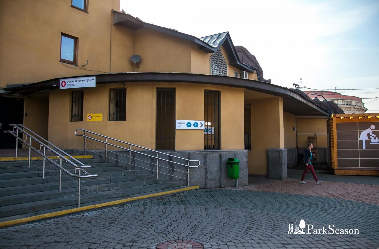 Туалеты, Московский зоопарк, Москва — ParkSeason