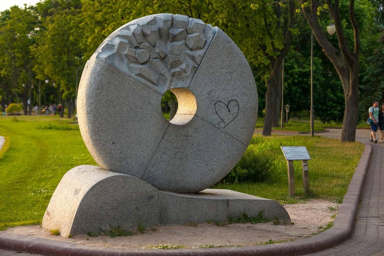 Скульптура «Мельница переспы» — ParkSeason