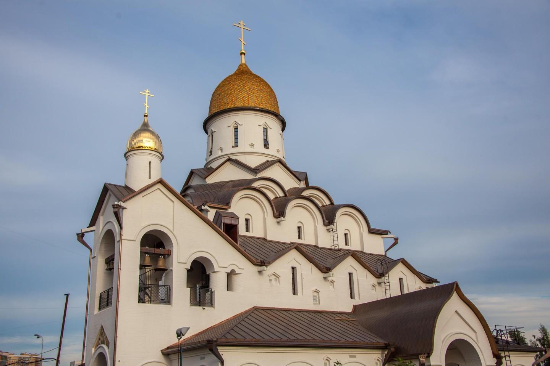 Храм святого благоверного князя Александра Невского, Парк Олимпийской деревни, Москва — ParkSeason