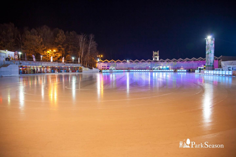 Каток в парке «Южное Бутово», Детский ландшафтный парк «Южное Бутово», Москва — ParkSeason