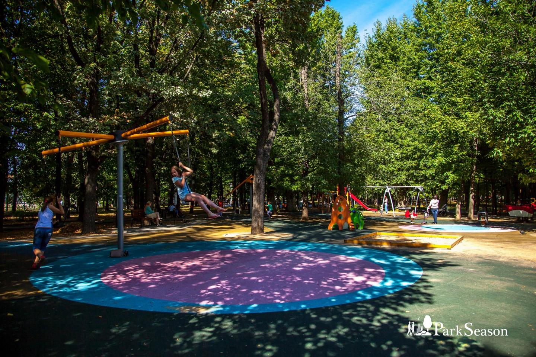 Детские площадки, Сквер Девичьего поля, Москва — ParkSeason