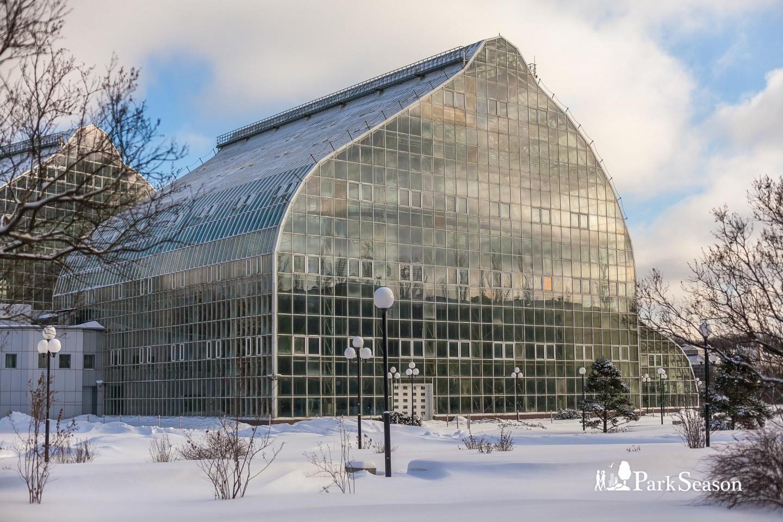 Новая Фондовая оранжерея ГБС РАН — ParkSeason