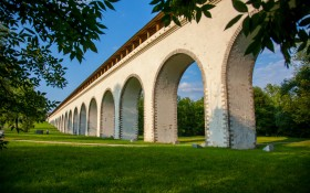 Парк Ростокинский Акведук: мероприятия, еда, цены, каток, билеты, карта, как добраться, часы работы — ParkSeason