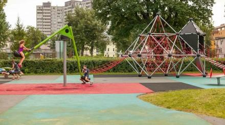 Как выглядит обновленный Детский Таганский парк?