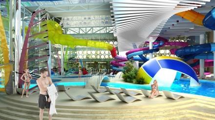 Каким будет новый аквапарк в «Лужниках»?
