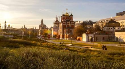 Москва в золоте: осенние выходные у Кремля