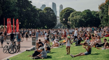 Лето в парках Москвы: итоги