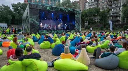 Музыка и небо: как проходят концерты на поляне «Аптекарского огорода»