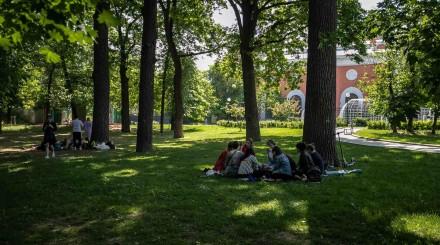 Май в саду Баумана: фоторепортаж ParkSeason