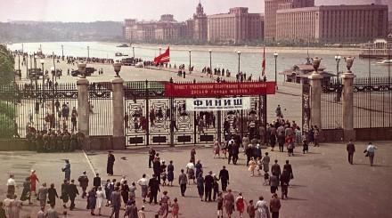 ВДНХ, Парк Горького и Московский зоопарк на снимках прошлых столетий