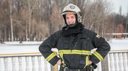 «Пожарная миля» в Измайловском парке: как прошел забег в честь 23 февраля