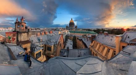 Вид сверху: смотровые площадки Санкт-Петербурга