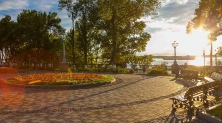 Фото: лето в парках Самары