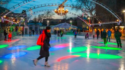 Ночь на катке в парках Москвы: программа 2020 года