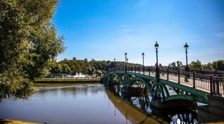 Живописные мосты в парках Москвы: подборка ParkSeason