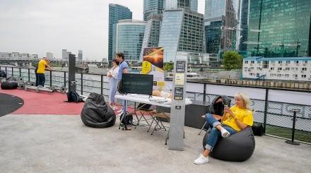 Впервые фестиваль Geek Picnic прошел на корабле
