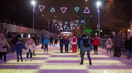 Где кататься на коньках в Москве в ноябре: обзор ParkSeason