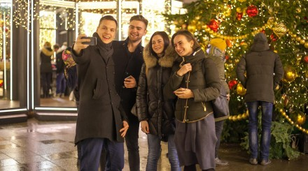 Новогодняя столица в Инстаграм-профилях москвичей: подборка ParkSeason