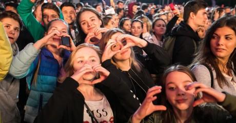 Фестиваль «Ласточка» в «Лужниках»