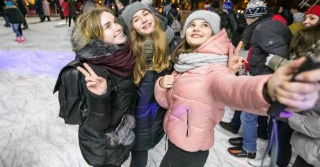Открытие зимнего сезона в парках Москвы: бесплатные сеансы на катках