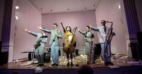 Концерт французского квартета саксофонистов «Хабанера» | Фестиваль Re:formers