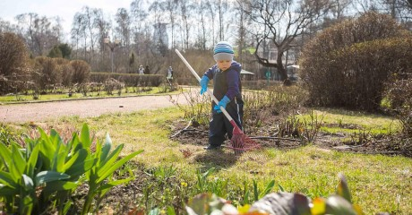 Детская школа гидов-экологов в Кусковском лесопарке