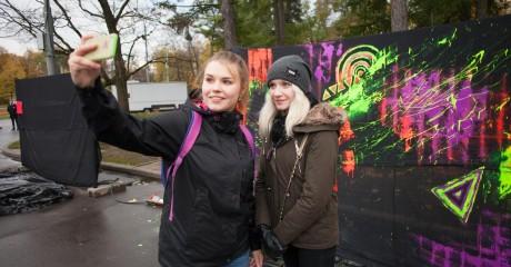 Фестиваль граффити в Доме Астахова