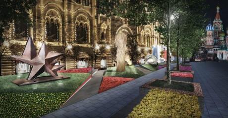 Фестиваль ГУМ-Red-Line: «Красный сад»