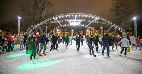 Ледовое шоу в саду «Эрмитаж»