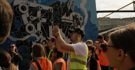 Экскурсии по закрытой части Музея стрит-арта