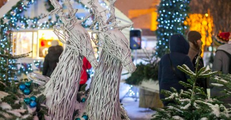 Рождественский базар «Вокзал» на Хлебозаводе