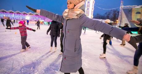 Интерактивная зимняя программа в парке Маяковского