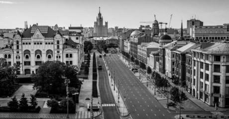 Фотовыставка «Москва. Великая пустота» Сергея Пономарева