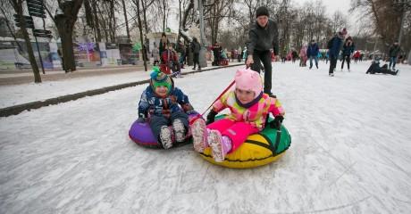 Открытие усадьбы Деда Мороза в ЦПКиО имени Маяковского
