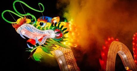 Фестиваль волшебных китайских фонарей в «Сокольниках»