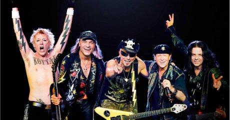 Концерт Scorpions-2019 в Екатеринбурге